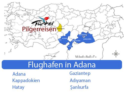 Flughafen in adana- pilgerreisen