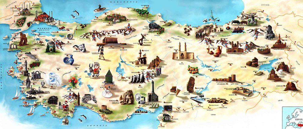 turkeytouristicmap